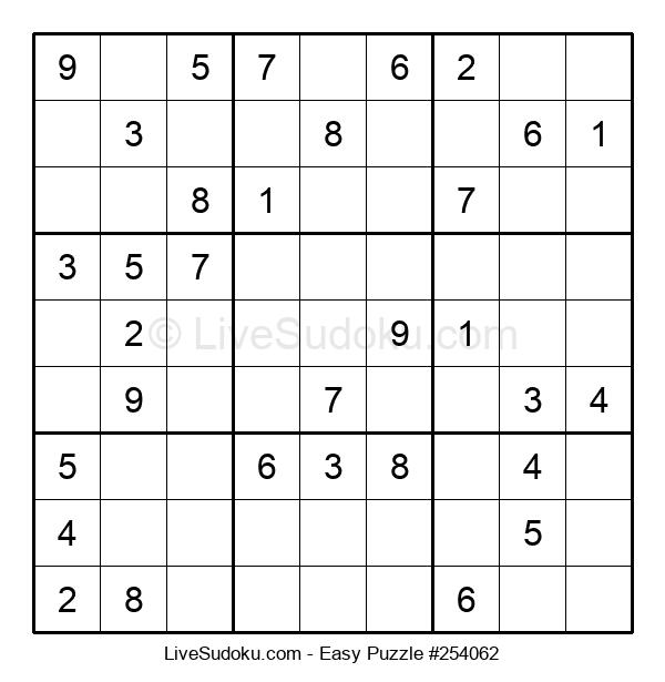 Beginners Puzzle #254062