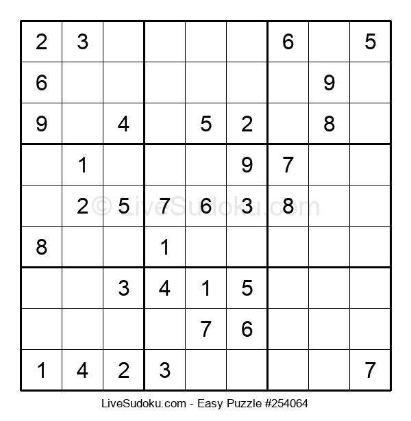 Beginners Puzzle #254064
