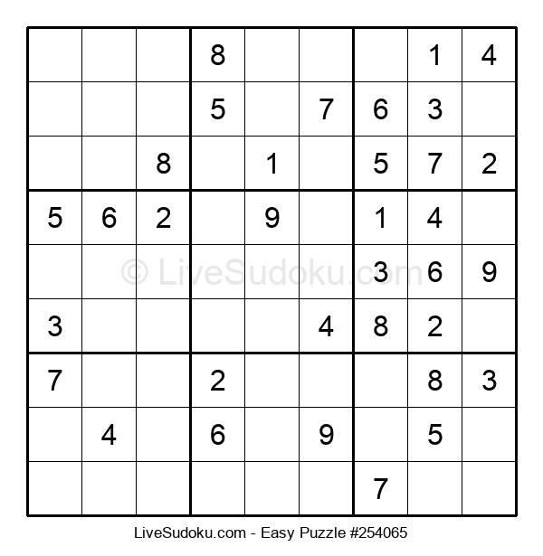 Beginners Puzzle #254065