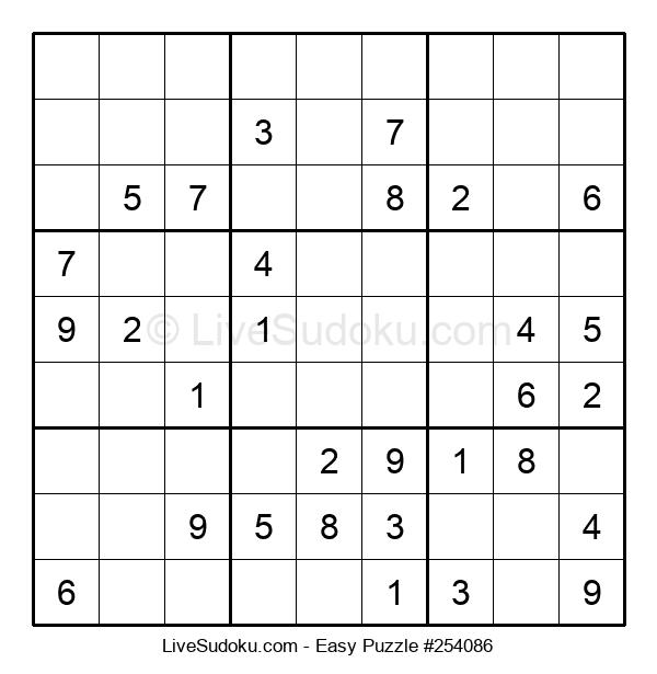 Beginners Puzzle #254086
