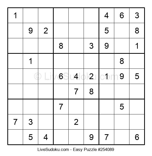 Beginners Puzzle #254089