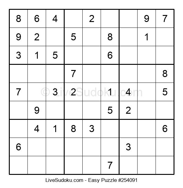 Beginners Puzzle #254091