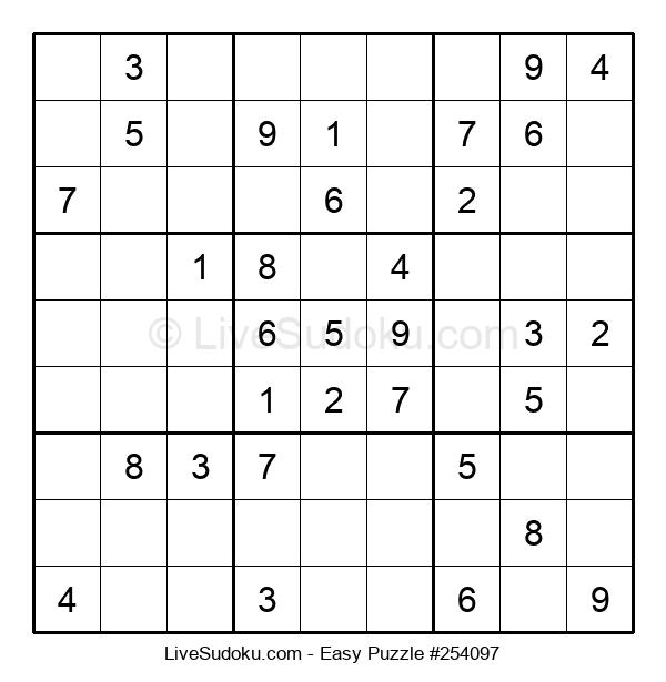 Beginners Puzzle #254097