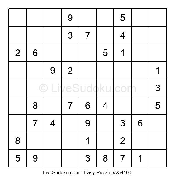 Beginners Puzzle #254100