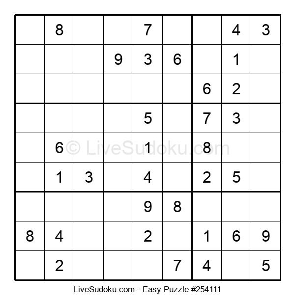 Beginners Puzzle #254111