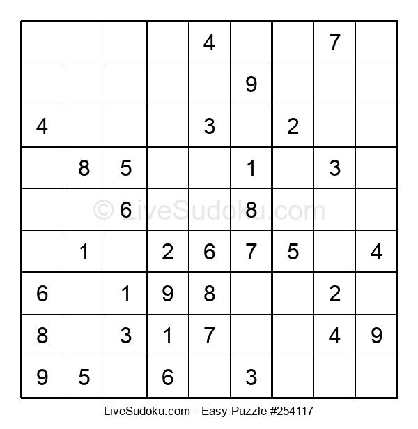 Beginners Puzzle #254117