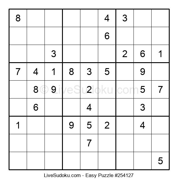 Beginners Puzzle #254127