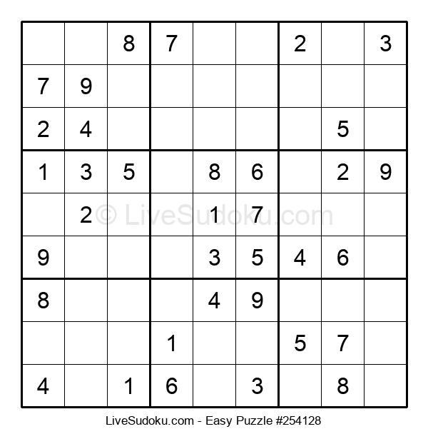 Beginners Puzzle #254128