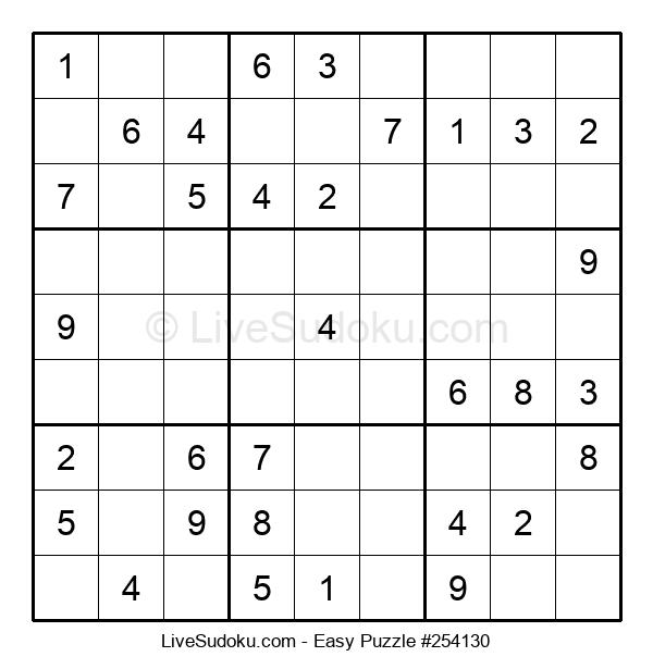 Beginners Puzzle #254130