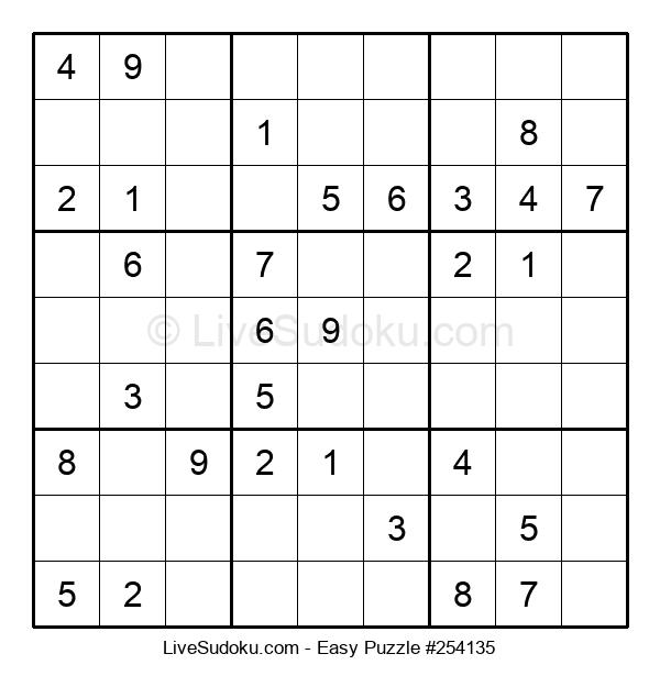 Beginners Puzzle #254135