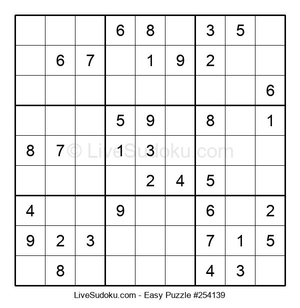 Beginners Puzzle #254139