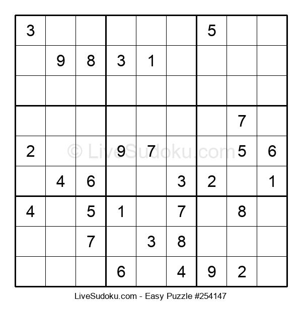 Beginners Puzzle #254147