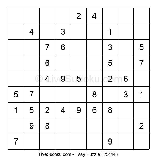 Beginners Puzzle #254148