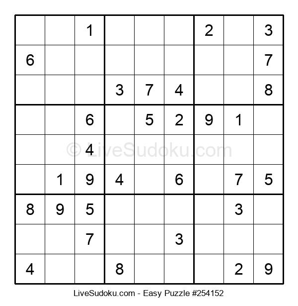 Beginners Puzzle #254152