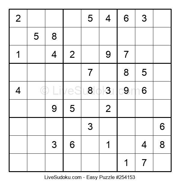 Beginners Puzzle #254153