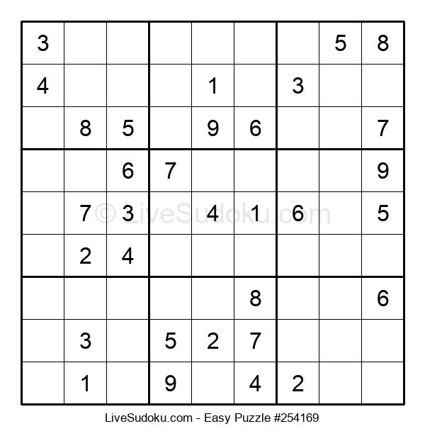 Beginners Puzzle #254169