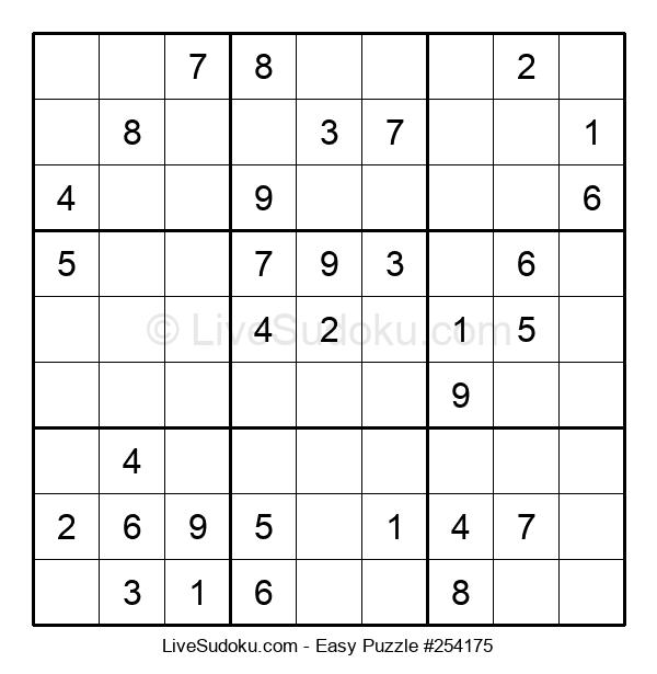 Beginners Puzzle #254175