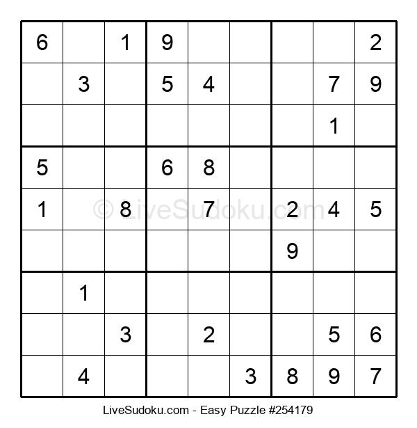 Beginners Puzzle #254179