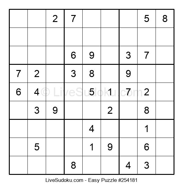 Beginners Puzzle #254181