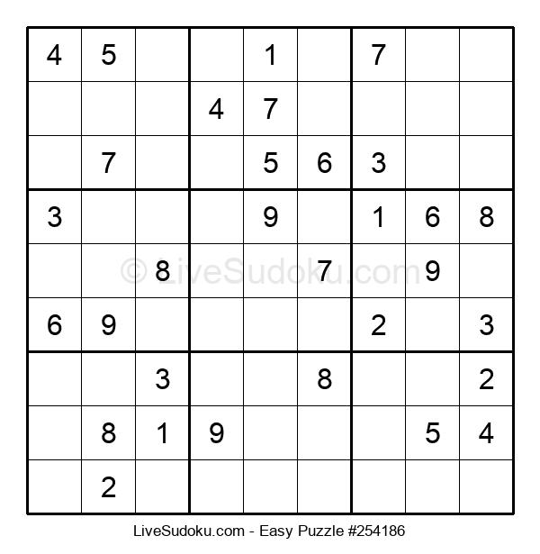 Beginners Puzzle #254186