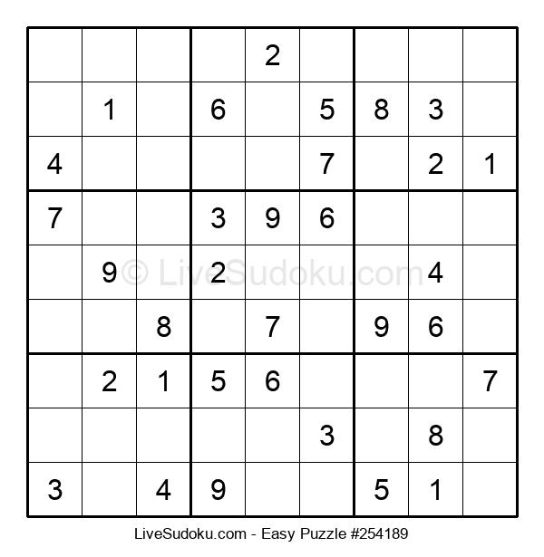 Beginners Puzzle #254189