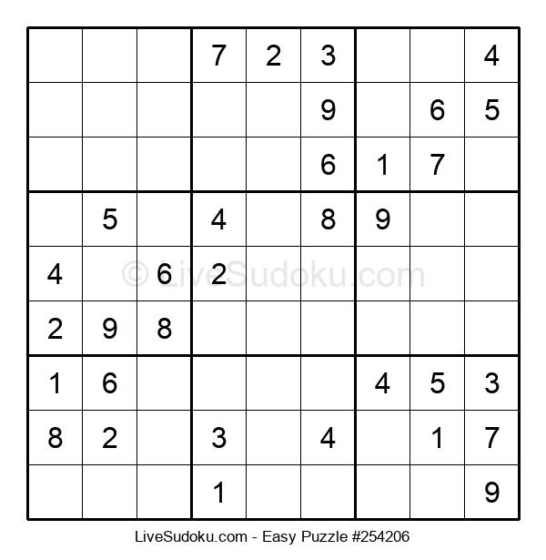 Beginners Puzzle #254206