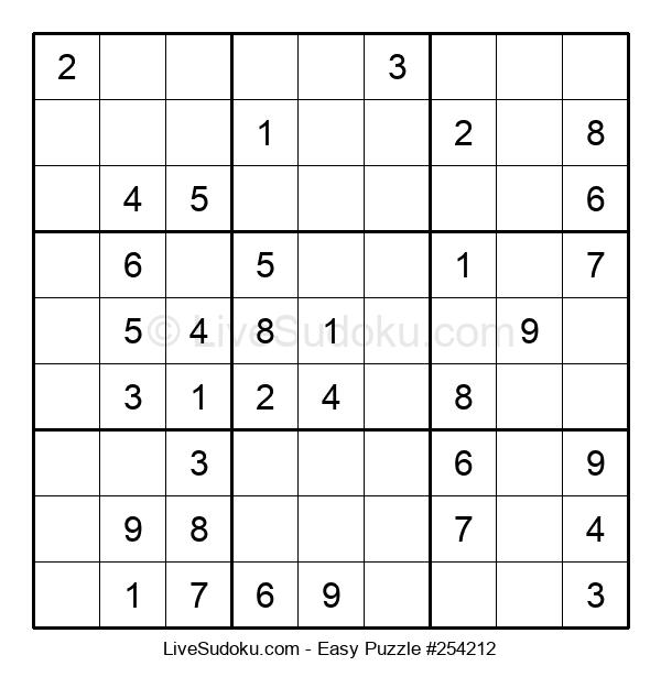 Beginners Puzzle #254212