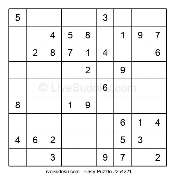 Beginners Puzzle #254221