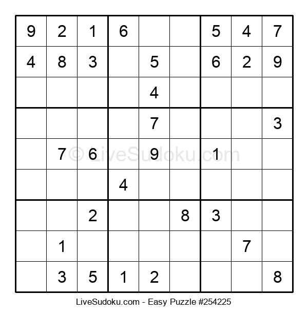 Beginners Puzzle #254225