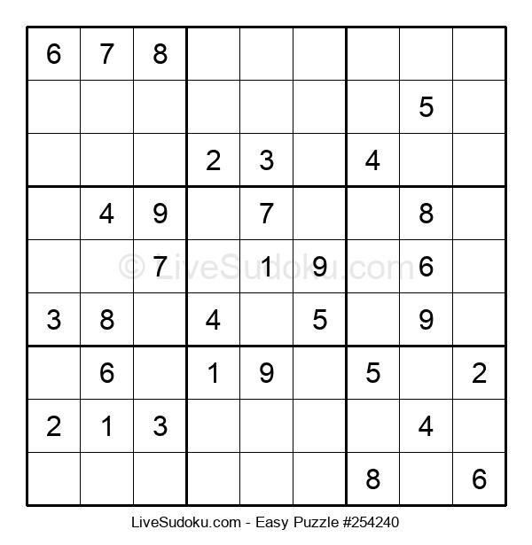 Beginners Puzzle #254240