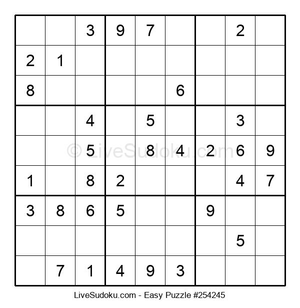 Beginners Puzzle #254245