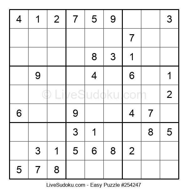 Beginners Puzzle #254247