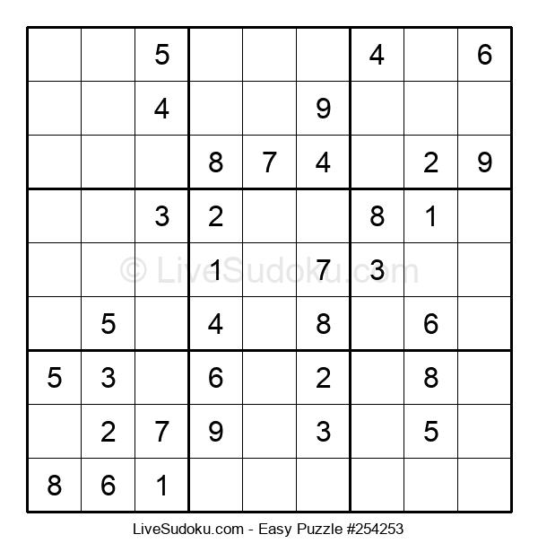 Beginners Puzzle #254253