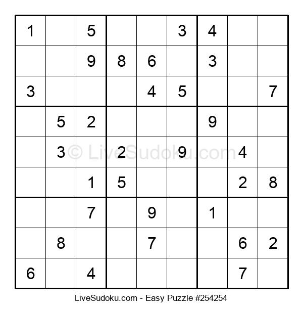 Beginners Puzzle #254254