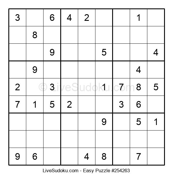 Beginners Puzzle #254263