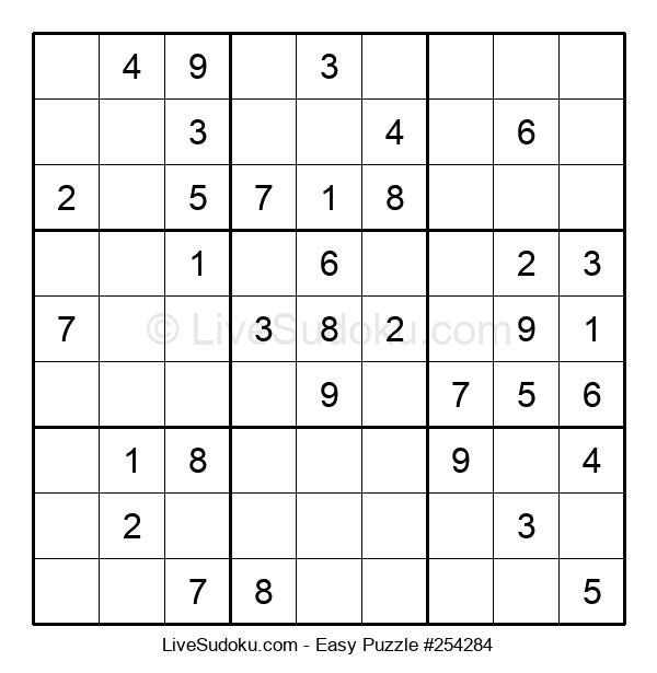 Beginners Puzzle #254284
