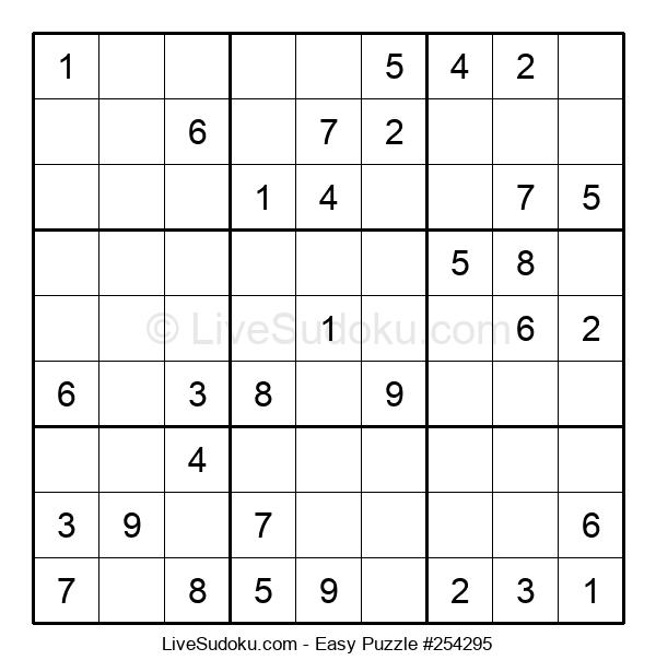 Beginners Puzzle #254295