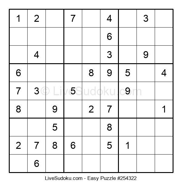 Beginners Puzzle #254322