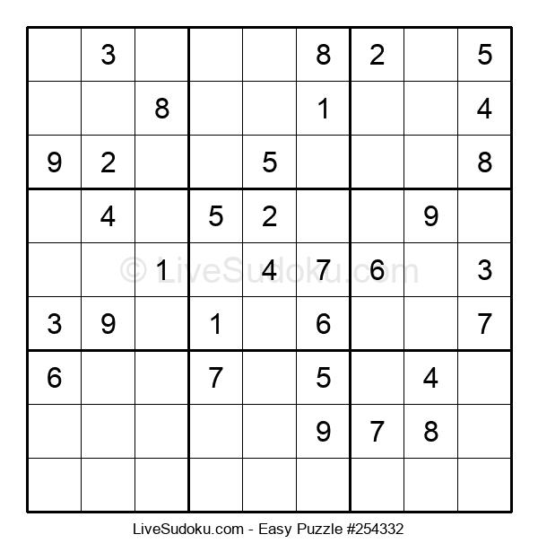 Beginners Puzzle #254332