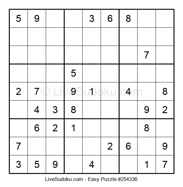 Beginners Puzzle #254336