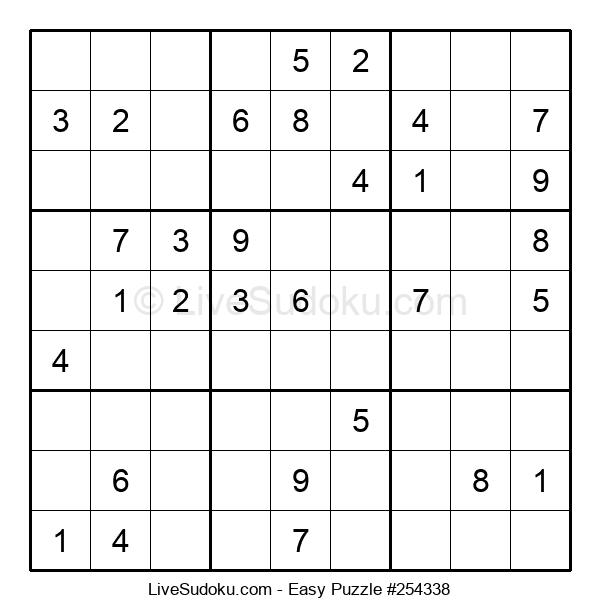 Beginners Puzzle #254338