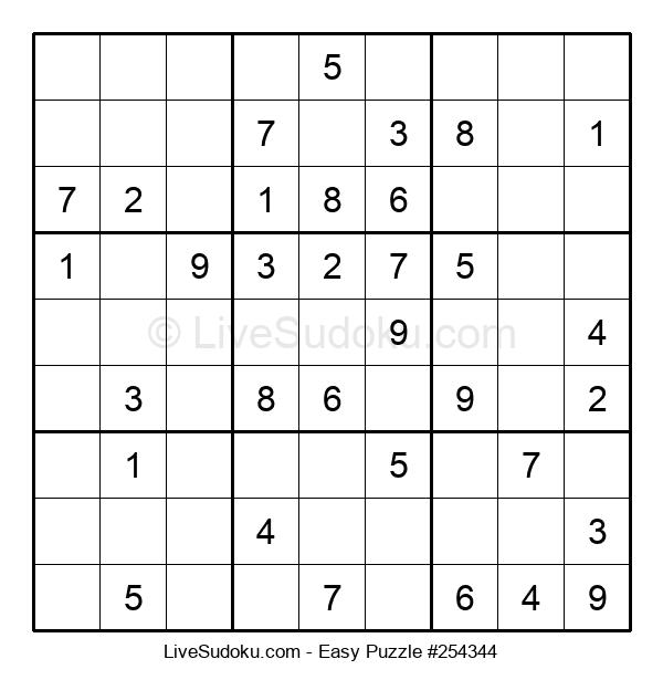 Beginners Puzzle #254344