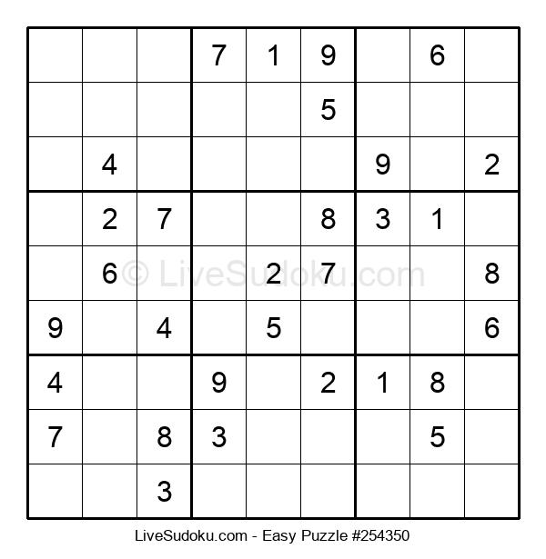 Beginners Puzzle #254350