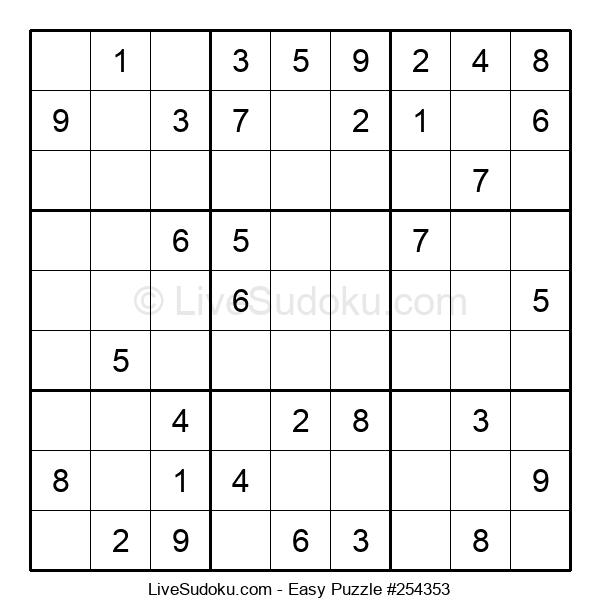 Beginners Puzzle #254353