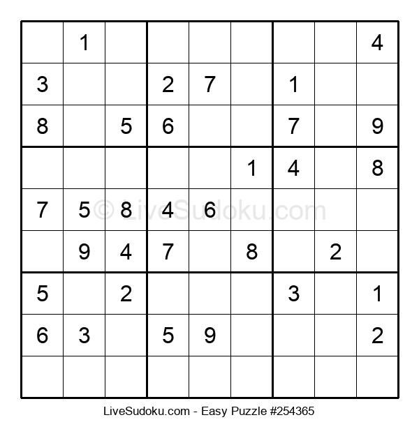 Beginners Puzzle #254365