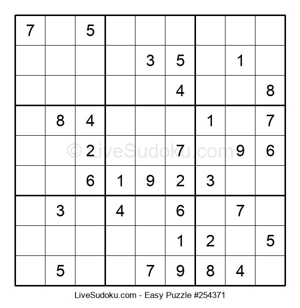 Beginners Puzzle #254371