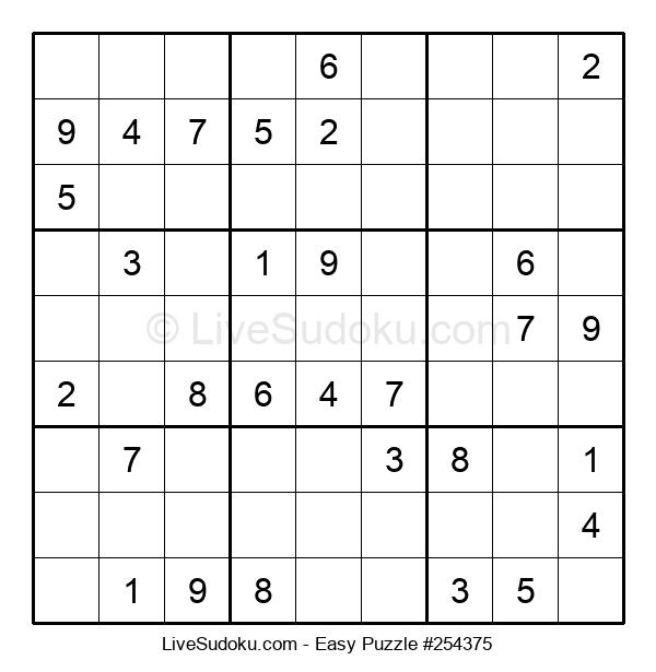 Beginners Puzzle #254375