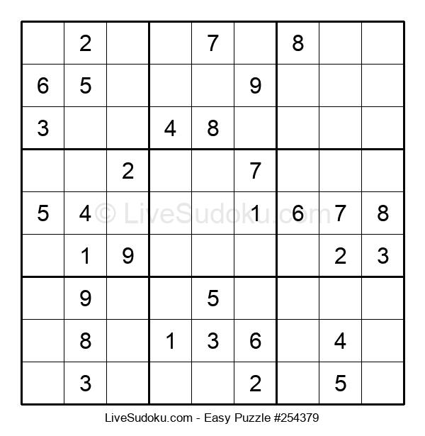 Beginners Puzzle #254379