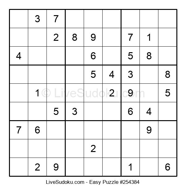 Beginners Puzzle #254384