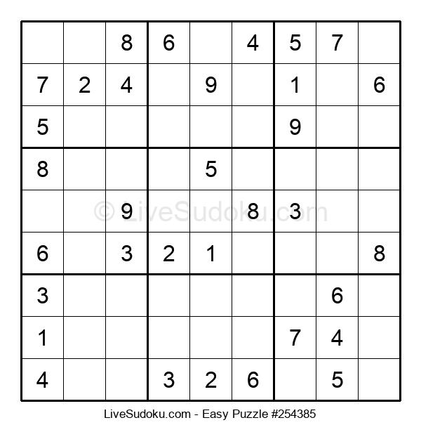 Beginners Puzzle #254385